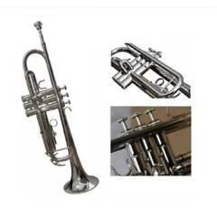 BALDASSARE - 6418n Sv Trompeta Niquelada Baldassare