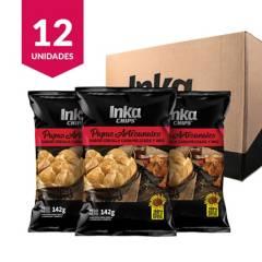 INKA CHIPS - Papas Artesanales Inka Chips Cebolla Caramelizada & BBQ - 12 und x 142g