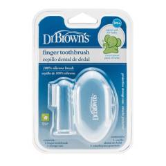 DR BROWN´S - Cepillo de dientes de silicona con estuche