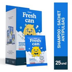 FRESHCAN - Fresh Can Shampoo Adulto Antipulgas Display 25 Und.