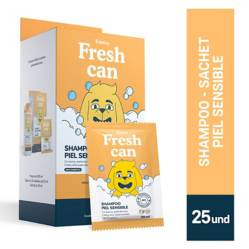FRESHCAN - Fresh Can Shampoo Adulto Piel Sensible Display 25 Und.