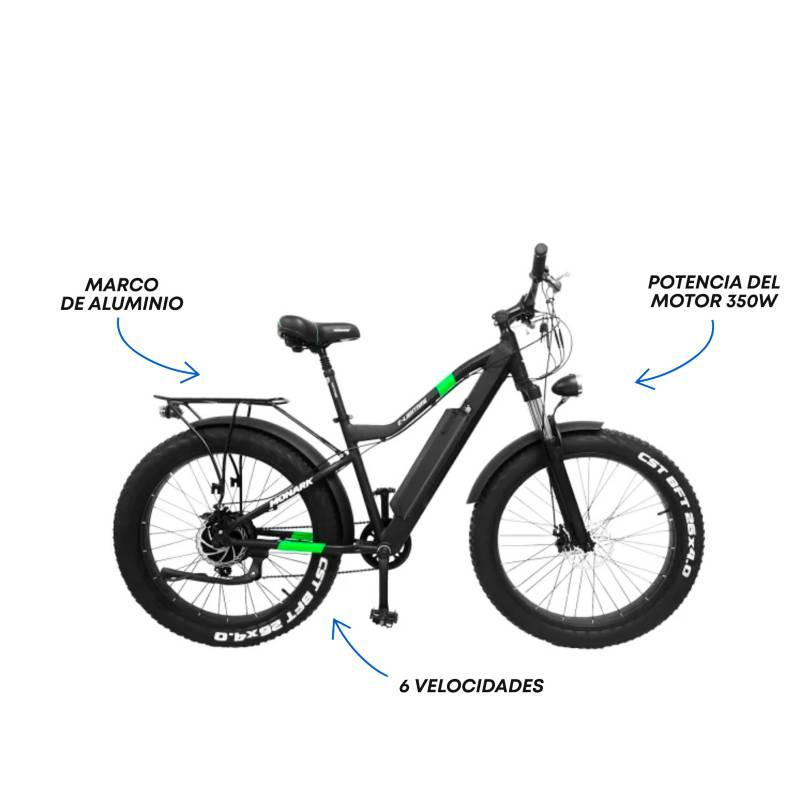 Monark - Bicicleta Eléctrica  E-Lightning Aro 26'