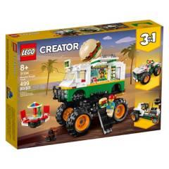 LEGO - Lego 31104 Camión de Hamburguesas Monster