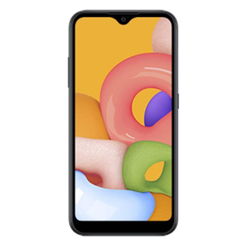SAMSUNG - Celular Samsung A01 Dual Sim Negro