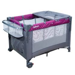 INFANTI - Corral Cuna Lucero Purple