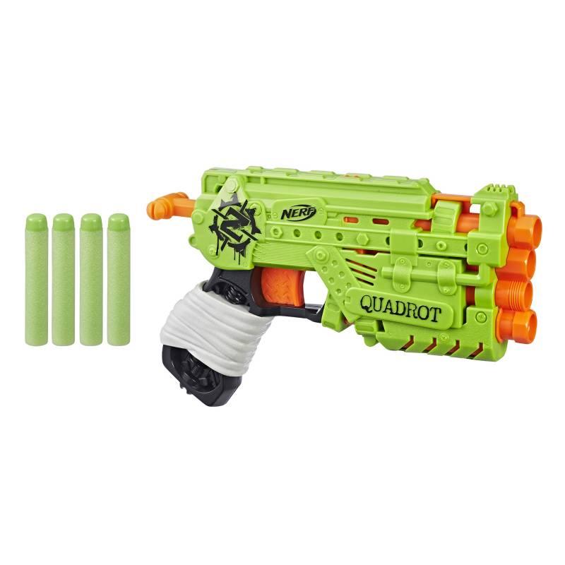 NERF - Lanzador Zombie Strike Quadrot