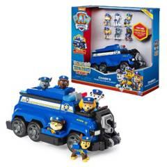 PAW PATROL - Vehículo Chase + 6 Figuras