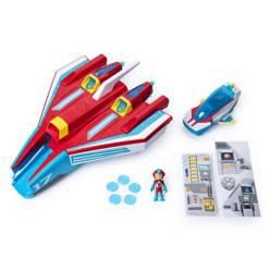 PAW PATROL - Vehículo Jet Supersonic Mighty Pups