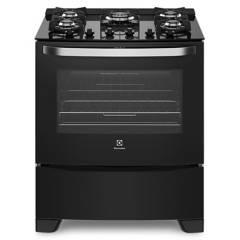 ELECTROLUX - Cocina a Gas 30P 76GS NEG 5H