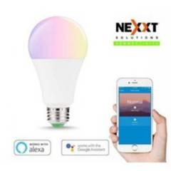 NEXXT - Foco Led Wifi  Compatible Con Alexa Y Google