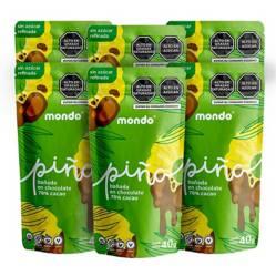 MONDO - Pina con chocolate 70% 40g MONDO