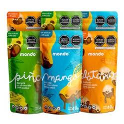 MONDO - Mix con chocolate 70% 40g MONDO