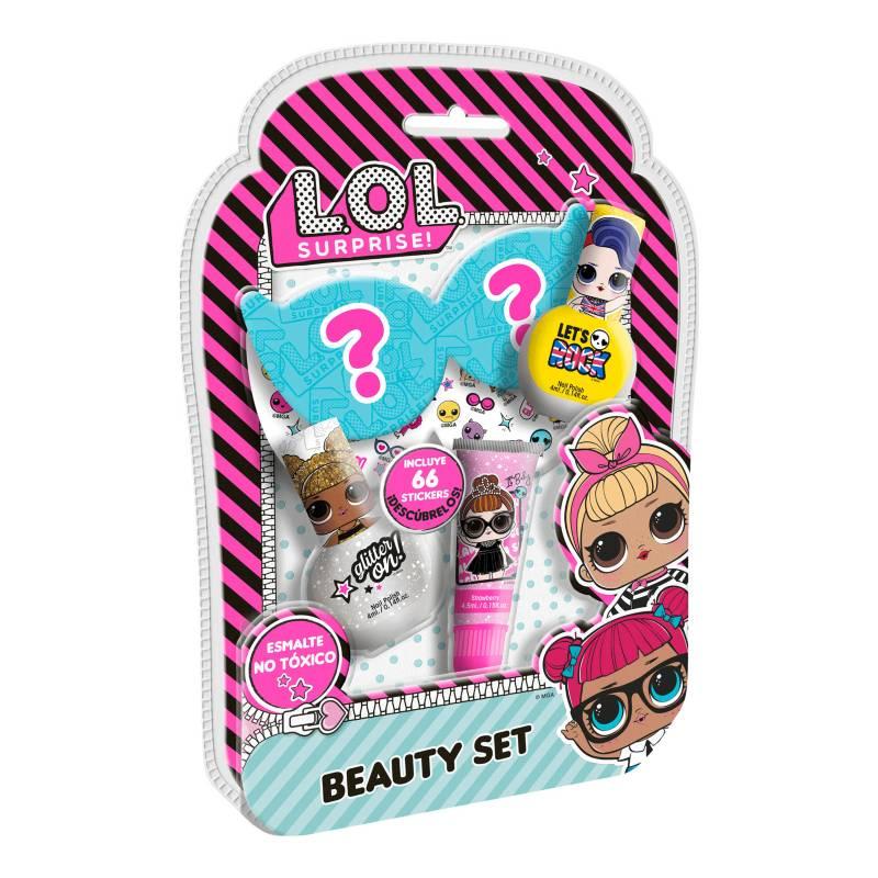 GELATTI - Set de Maquillaje LOL Med Esmalte+Gloss