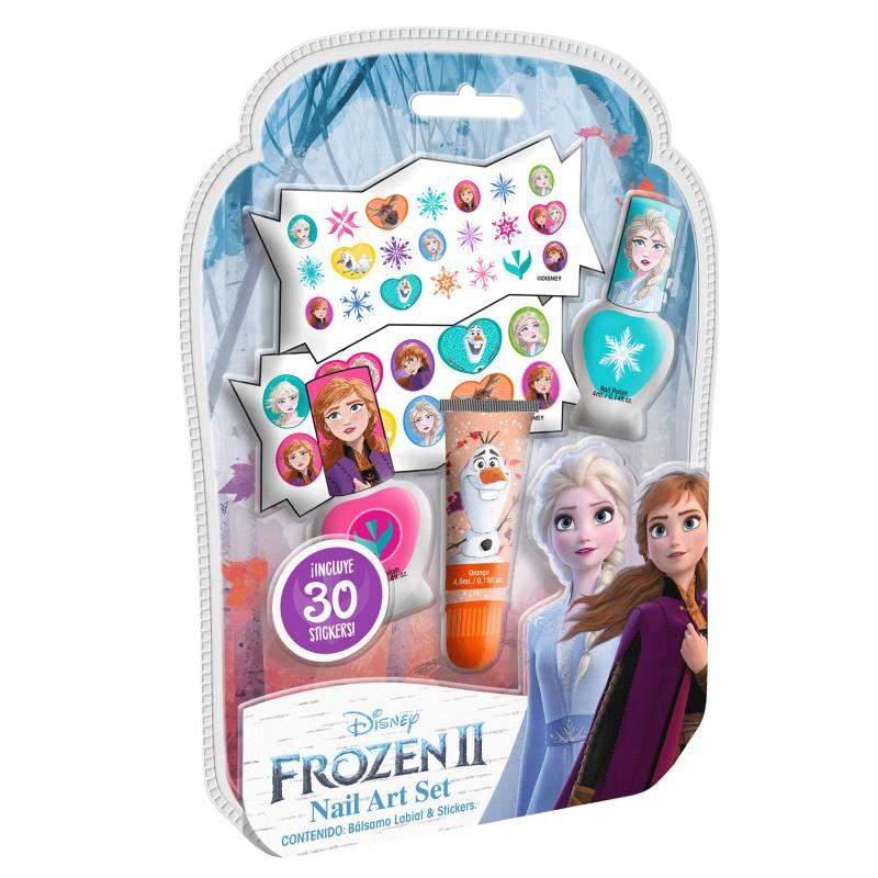 GELATTI - Set de Maquillaje Frozen Med Esmalte+Gloss
