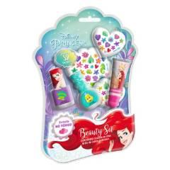 GELATTI - Set de Maquillaje Princesas Ariel Med Esmalte+Gloss