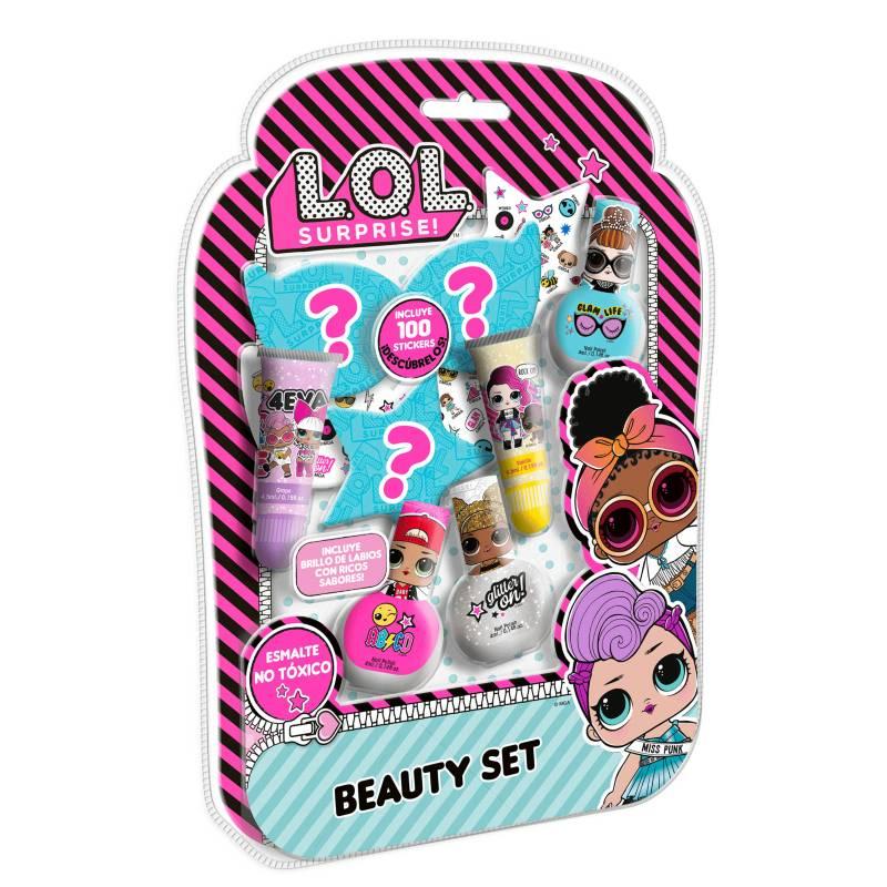 GELATTI - Set de Maquillaje LOL Grande Esmalte+Gloss
