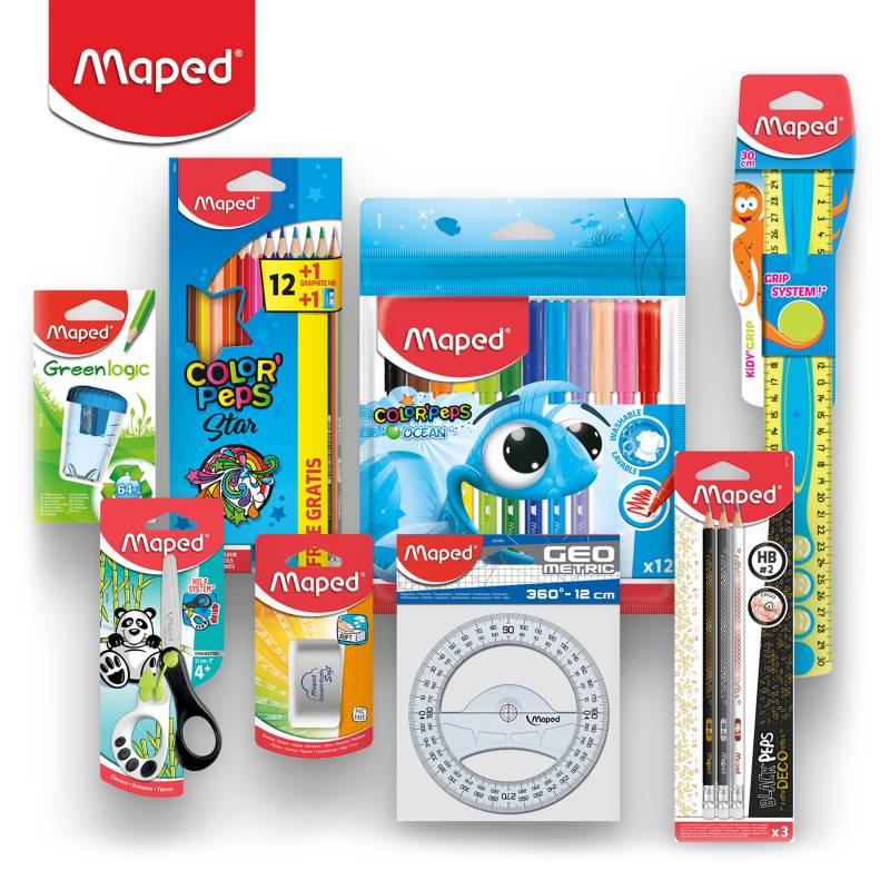 MAPED - Pack Escolar Básico