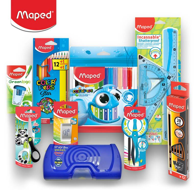 MAPED - Pack Escolar Plus