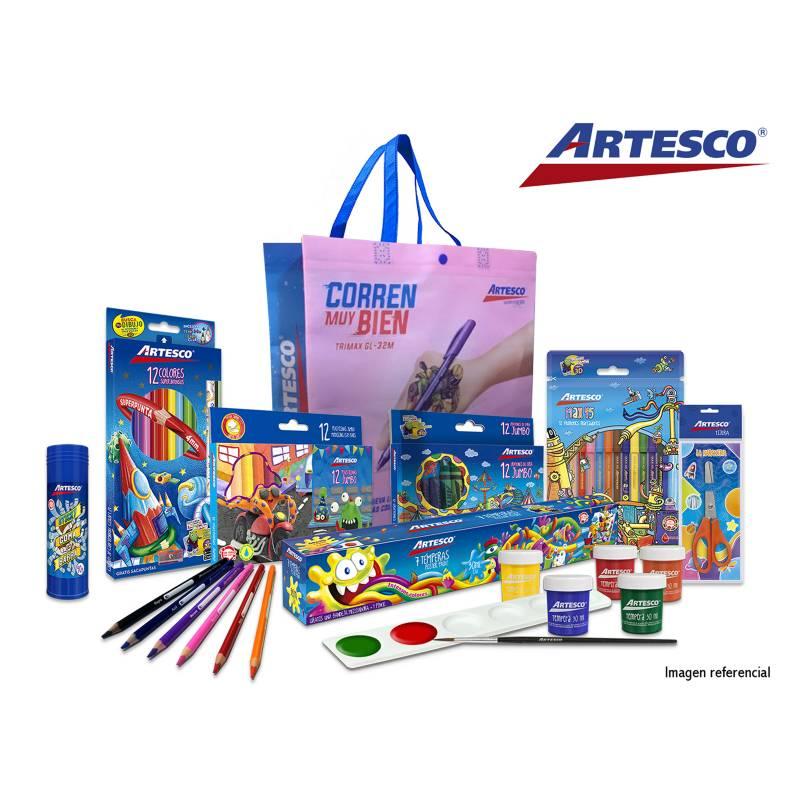 ARTESCO - Pack Básico Escolar