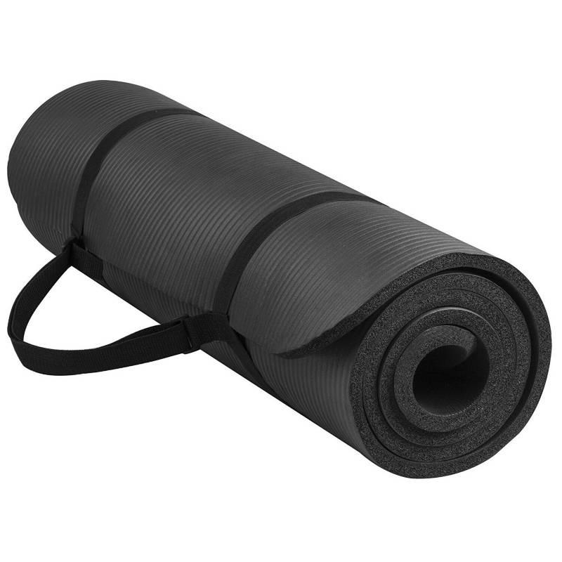 RISUTIMPORT - Colchoneta yoga mat 15mm  original + Sujetador.