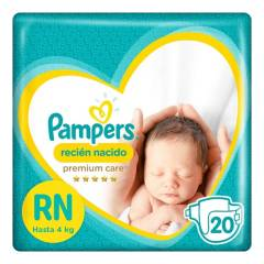 PAMPERS - Pañales Premium Care RN x 20