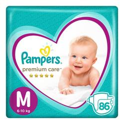 PAMPERS - Pañales Premium Care Megapack M x 86