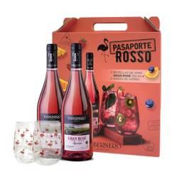 TABERNERO - Pack Pasaporte Rosso Rosé 750 ML