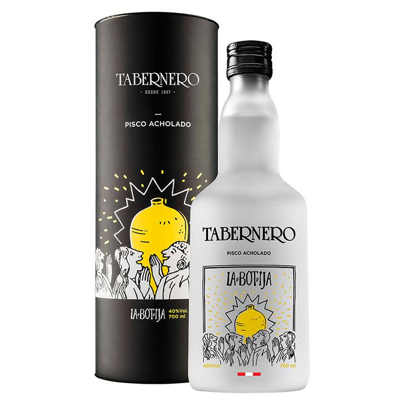 TABERNERO - Pisco La Botija Tabernero Acholado 700 ML