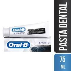 ORAL B - Pasta Dental Carbón Mineral Clean 75 ml