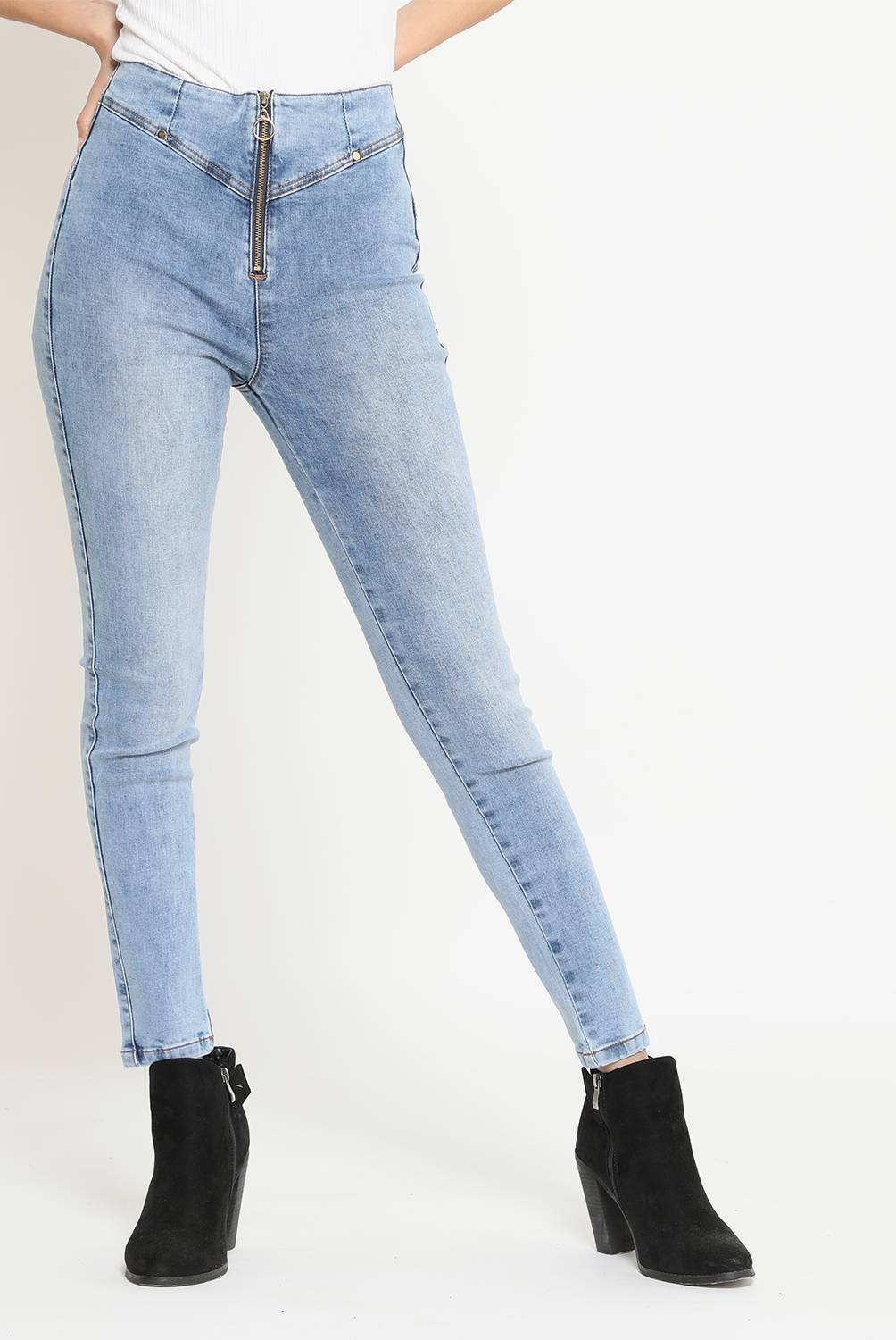 MOSSIMO - Jean Push Up Mujer