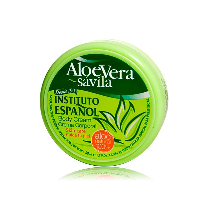 INSTITUTO ESPAÑOL - Tarro Crema Aloe Vera x50 ml