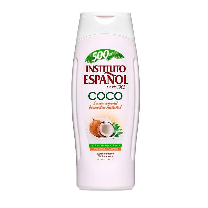 INSTITUTO ESPAÑOL - Locion Hidratante Coco x500  ml