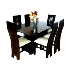 HOGAR Y ESPACIOS - Juego de comedor Lucy 6 sillas