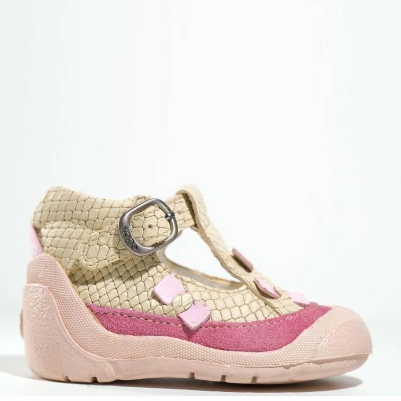 KONE - Zapato De Cuero Niña Primeros Pasos Pibe Ga0570Hu