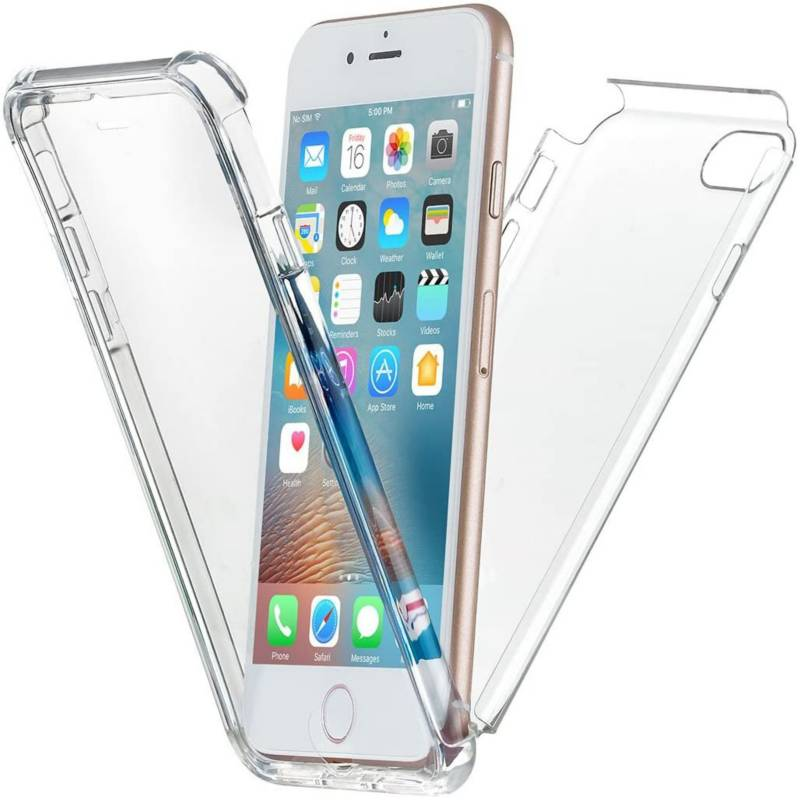 NEWTRENT - Protector Transparente Case iPhone 7 Plus