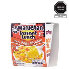 MARUCHÁN - Maruchán Instant Lunch Pollo Picante 64 Gr