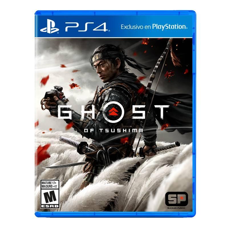 PLAYSTATION - PS4 Juego Ghost of Tsushima - LATAM