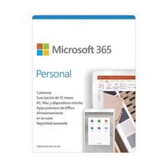 MICROSOFT - Microsoft Programa Office 365 Personal 32/64 bits