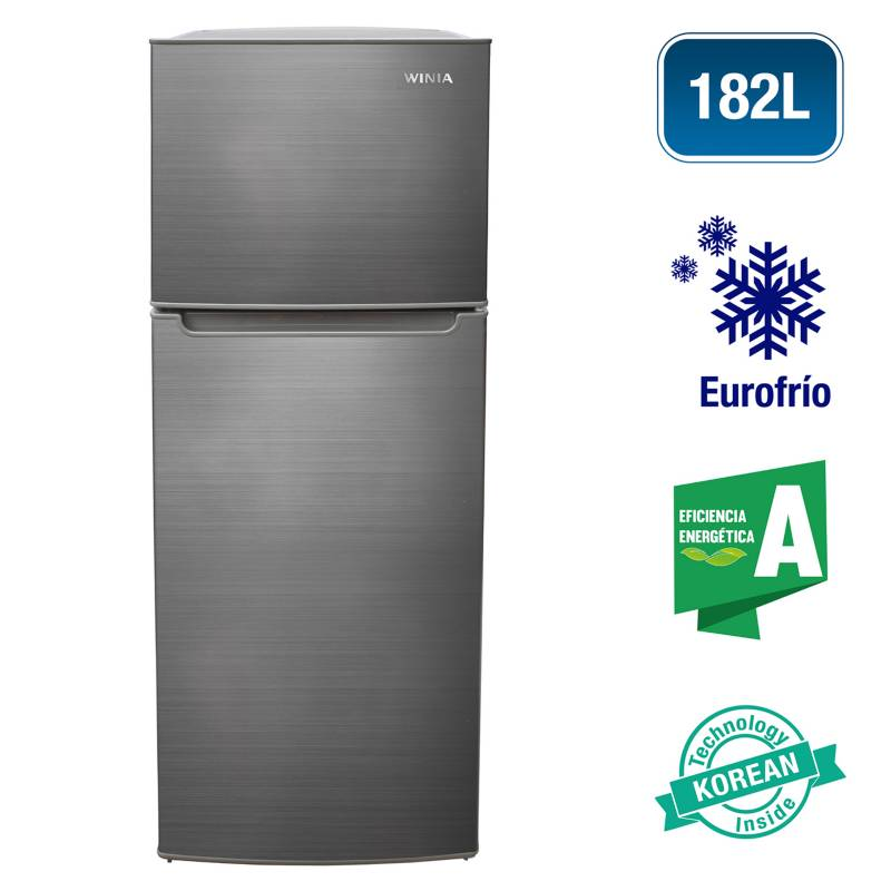 WINIA - Refrigeradora Top mount 185 Litros WRF-185HCS