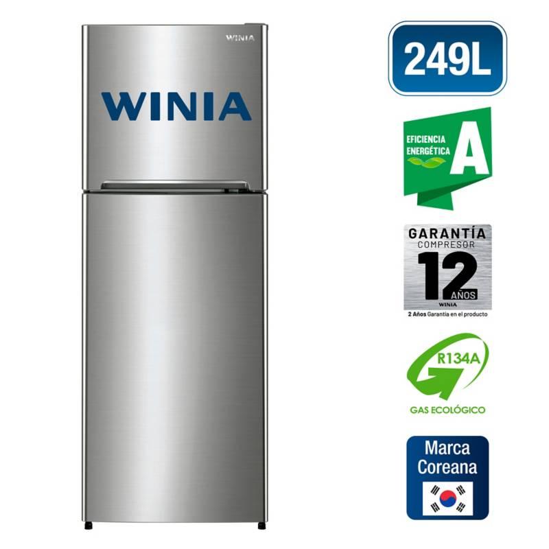 WINIA - Refrigeradora Top Mount 249 Litros WRT-25GFB