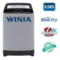 WINIA - Lavadora 9.5 Kg Silver WLA-195ECG