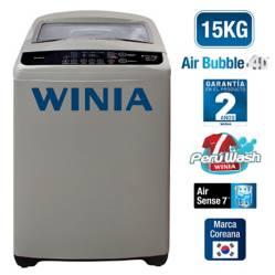 WINIA - Lavadora 15 Kg Silver WLA-150GMG