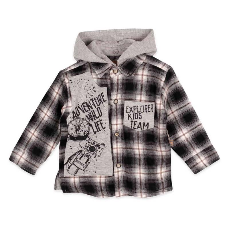 PILLIN - Camisa Algodón Bebé Niño