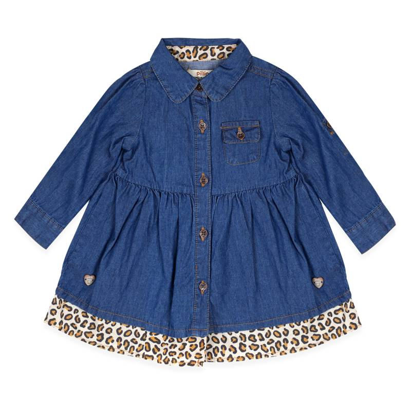 PILLIN - Vestido Denim Bebe