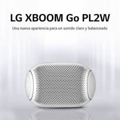 LG - LG PARLANTE BLUETOOTH PORTATIL XBOOM Go PL2 White (2020)