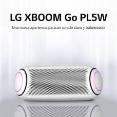 LG - LG PARLANTE BLUETOOTH PORTATIL XBOOM Go PL5 White (2020)