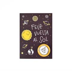 LUKUMESS - Tarjeta con Pin Cumpleaños Sol