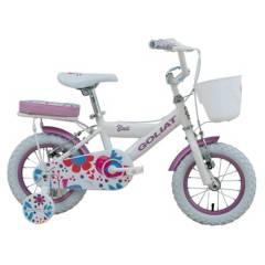 GOLIAT - Bicicleta Infantil Bali Blanco Aro 12