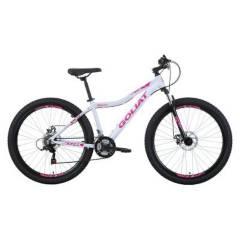 GOLIAT - Bicicleta Mujer Makaha Blanco Aro 27.5