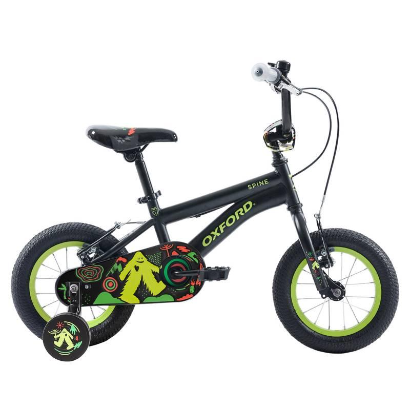 OXFORD - Bicicleta Aro 12 Spine 1VNegro-Amarillo
